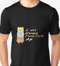 I Was Normal 3 Cats Ago Shirt T-Shirt