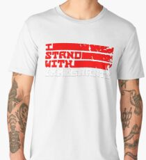 I STAND With Immigrants Men's Premium T-Shirt