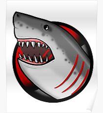 APEX PREDATOR (GREAT WHITE SHARK) SIMPLE Poster