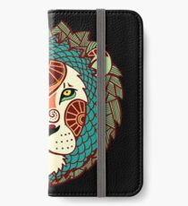 Leo iPhone Flip-Case/Hülle/Klebefolie