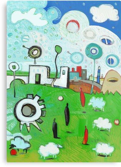 Ewe Croquet? by Jonathan Grauel