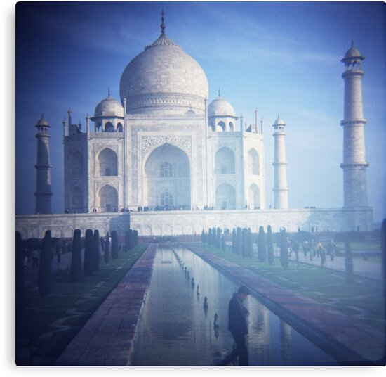 Plastic Taj by Lisa Bow
