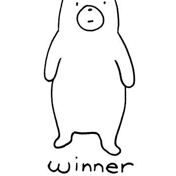 Winner take all - cuddly bear by DiabolickalPLAN