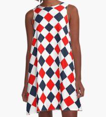Rebel Checkerboard Gameday Dress A-Line Dress