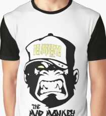 Gangster - Thug - Monkey Cartoon - Delinquent Nato Graphic T-Shirt