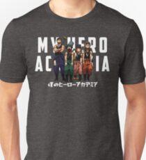 Camiseta ajustada HEROES (BLANCO)