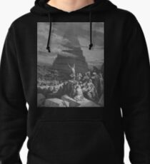 Gustave Dore - Bible Tour de Babel Pullover Hoodie