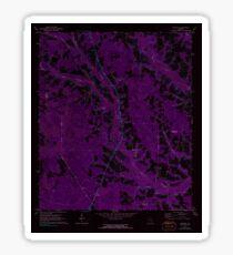 USGS TOPO Map Georgia GA Crawley 245440 1971 24000 Inverted Sticker