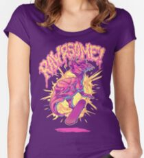 Rawrsome Women's Fitted Scoop T-Shirt