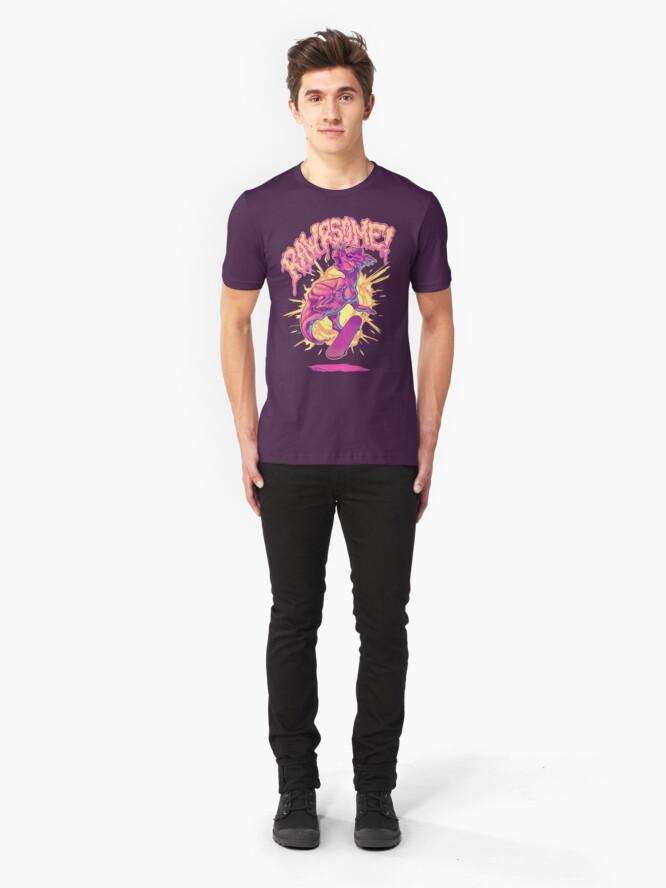 Alternate view of Rawrsome Slim Fit T-Shirt