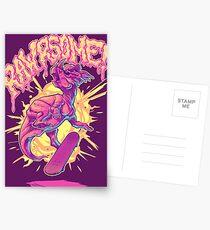 Rawrsome Postcards