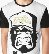 Ink Junkie - Tattoo Art - Monkey Cartoon Graphic T-Shirt