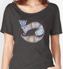 Fuzzy Ferret flounce Women's Relaxed Fit T-Shirt
