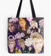 Final Fantasy XV Prompto-Collage Tote Bag