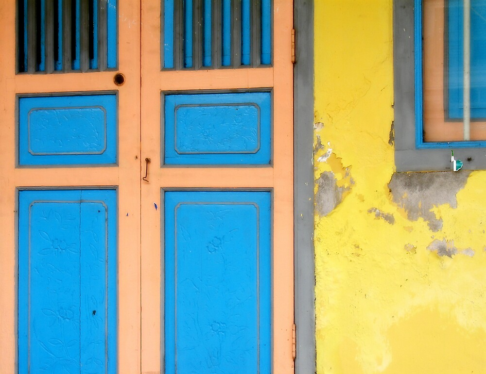 Colors on Doors & Windows, v.1 by NawfalNur
