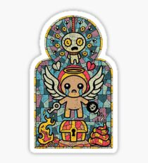 The binding of isaac Afterbirth Sticker