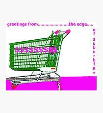 pop!..suburbia Photographic Print