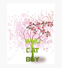 Who Dat Boy Photographic Print