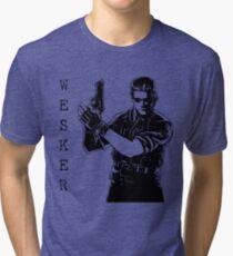 Albert Wesker Resident Evil 1 Remake Tri-blend T-Shirt