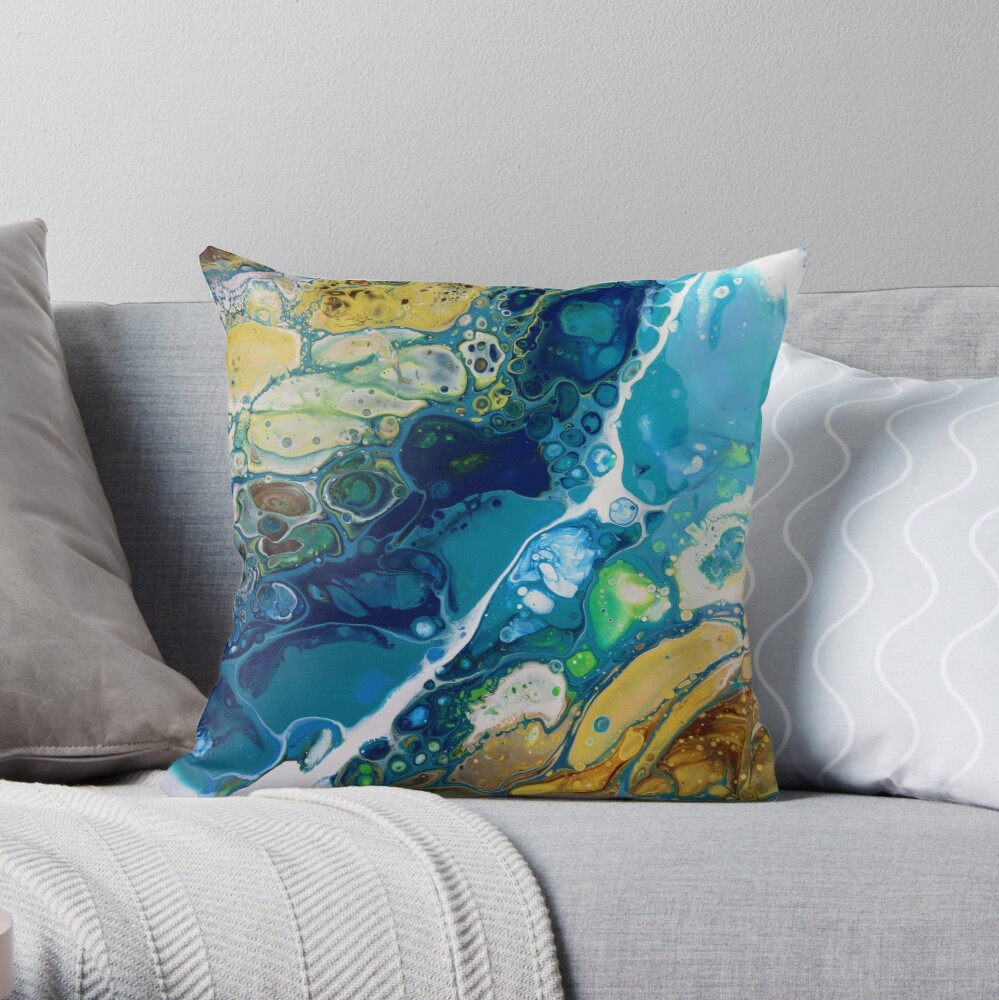 Formation of Desire Throw Pillow