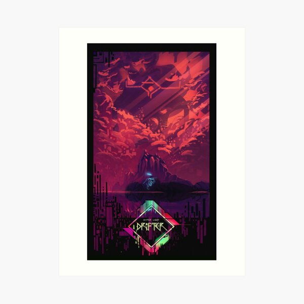 Hyper light Art Print