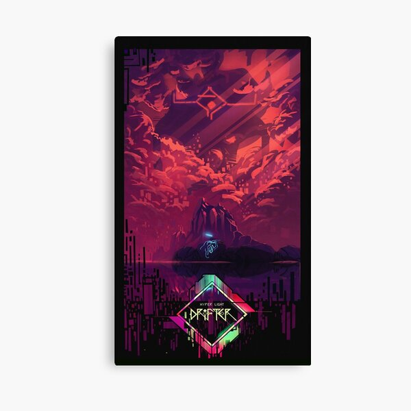 Hyper light Canvas Print
