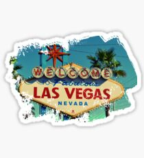 Summer in Las Vegas Sticker