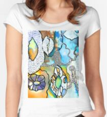Rockpool Women's Fitted Scoop T-Shirt