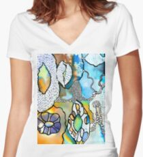 Rockpool Women's Fitted V-Neck T-Shirt