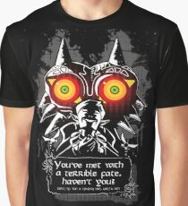Majoras Mask - Meeting With a Terrible Fate Graphic T-Shirt