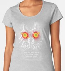 Majoras Mask - Meeting With a Terrible Fate Women's Premium T-Shirt