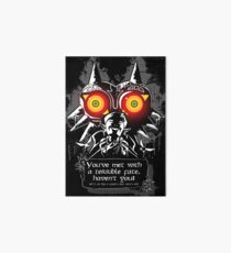 Majoras Mask - Meeting With a Terrible Fate Art Board