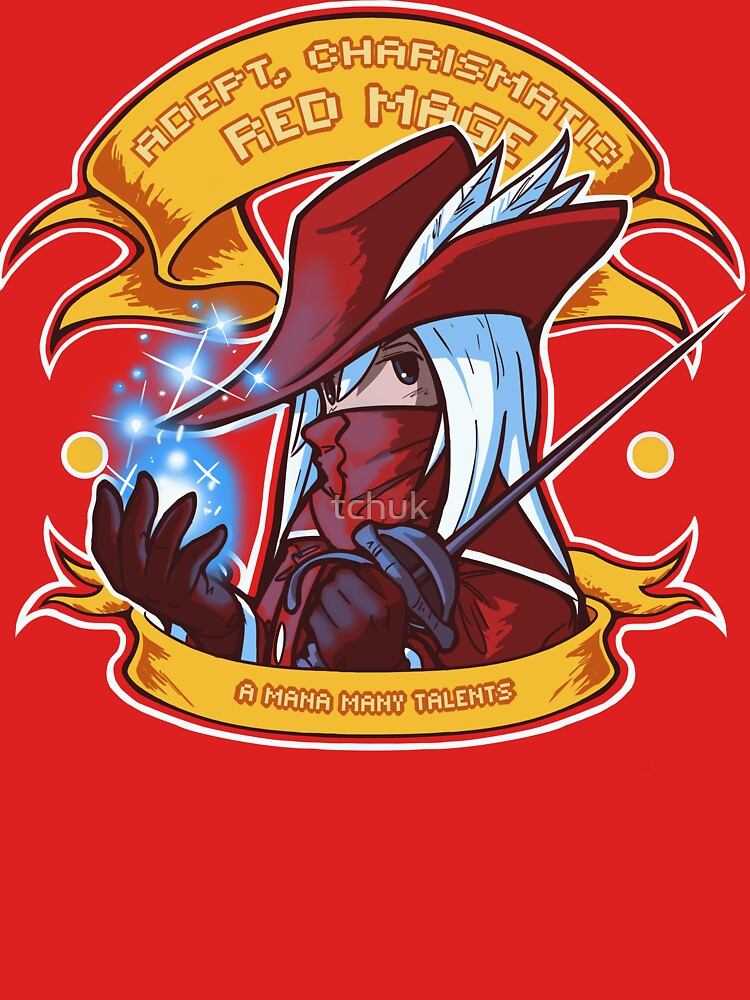 TShirtGifter presents: Adept, Charismatic Red Mage | Unisex T-Shirt