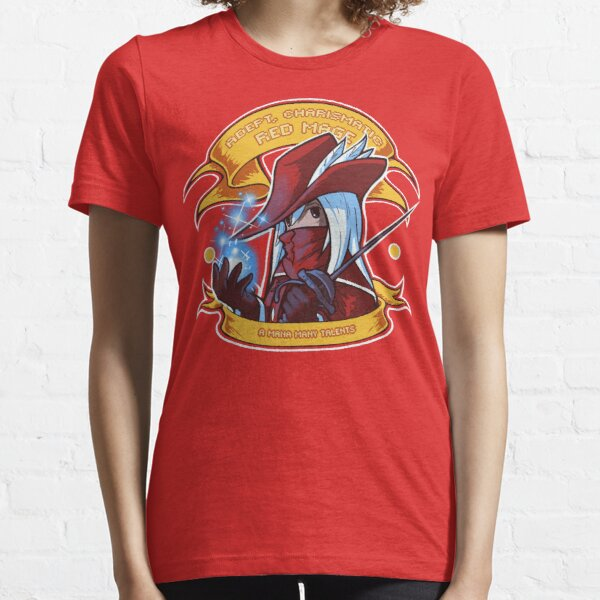 Adept, Charismatic Red Mage Essential T-Shirt