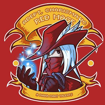 Adept, Charismatic Red Mage by tchuk