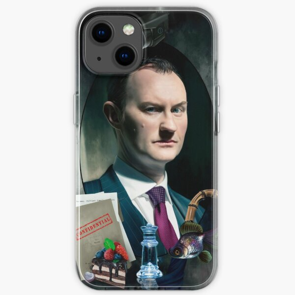 Mycroft iPhone Soft Case