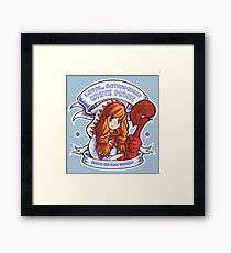 Loyal, Determined White Mage Framed Print