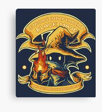 Strong Independent Black Mage Canvas Print