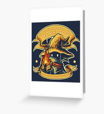 Strong Independent Black Mage Greeting Card