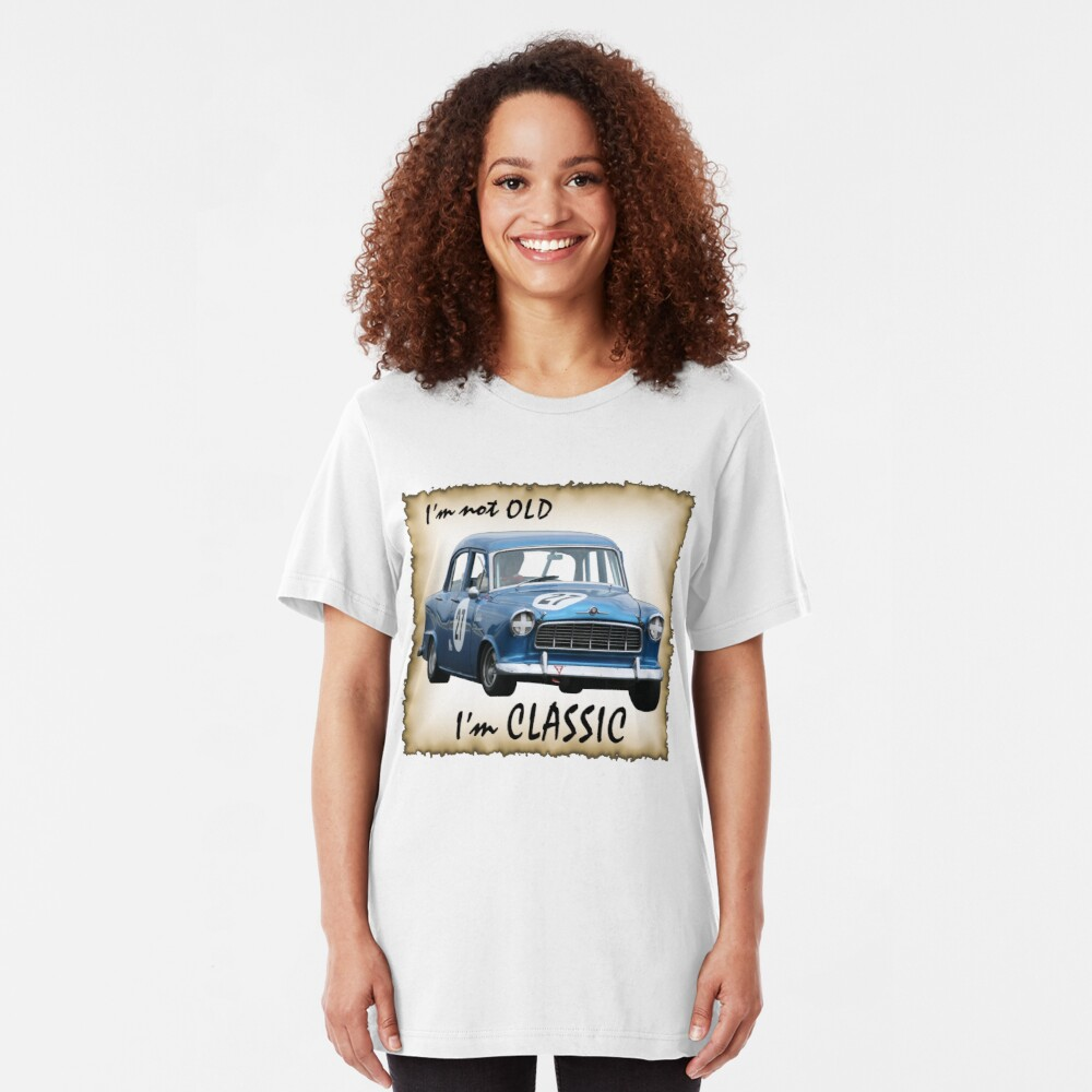 Who's Old !! Slim Fit T-Shirt