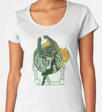 Midna's Mirror Women's Premium T-Shirt