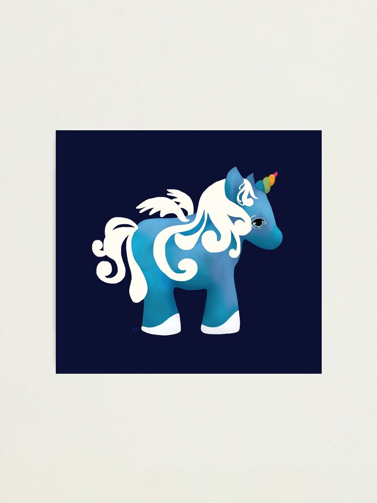 Alternate view of Magic Unicorn Photographic Print