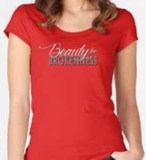 Beauty for Brokenness Women's Fitted Scoop T-Shirt