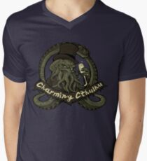 Charming Cthulhu Men's V-Neck T-Shirt