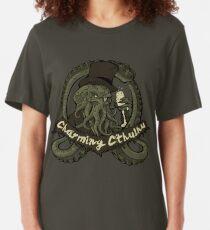 Charming Cthulhu Slim Fit T-Shirt