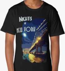 Nights of New York Long T-Shirt