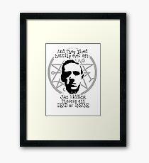 Lovecraft fairytale Framed Print