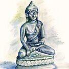 Buddha Statue by Nicole Zeug