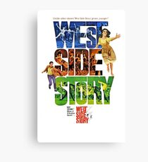 West Side Story movie poster Canvas Print