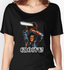 Evil Dead Ash - Groovy! Women's Relaxed Fit T-Shirt
